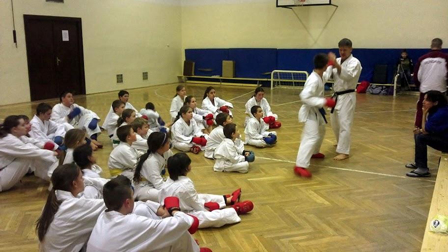 Kumite edzés a Raion-nál