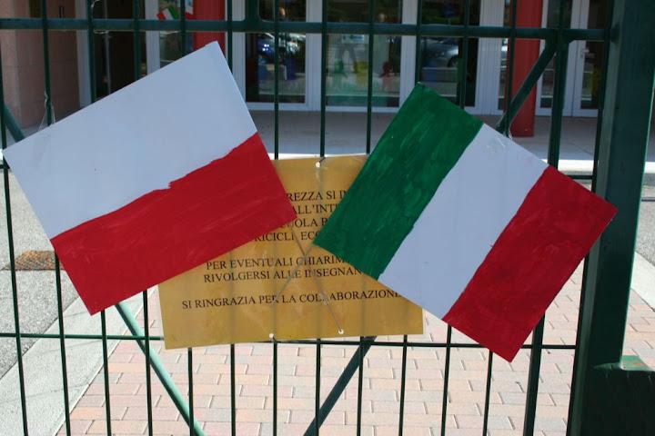 flaga polsko włoska