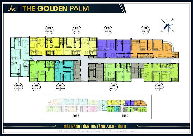 Chung cư The Golden Palm