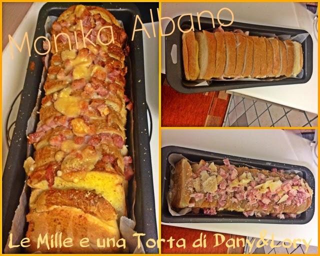 plum cake pan bauletto farcito cotto e formaggio