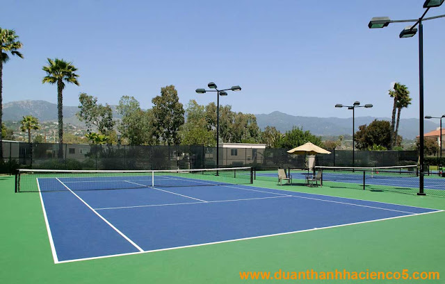 Khu vui chơi tennis chung cư thanh hà cienco 5
