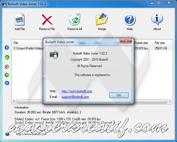 boilsoft video splitter 7.02.2 cracked
