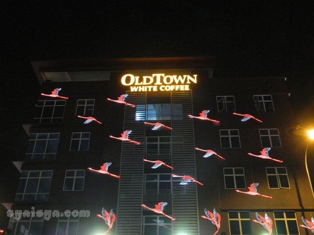 old town white coffee i-city shah alam malaysia