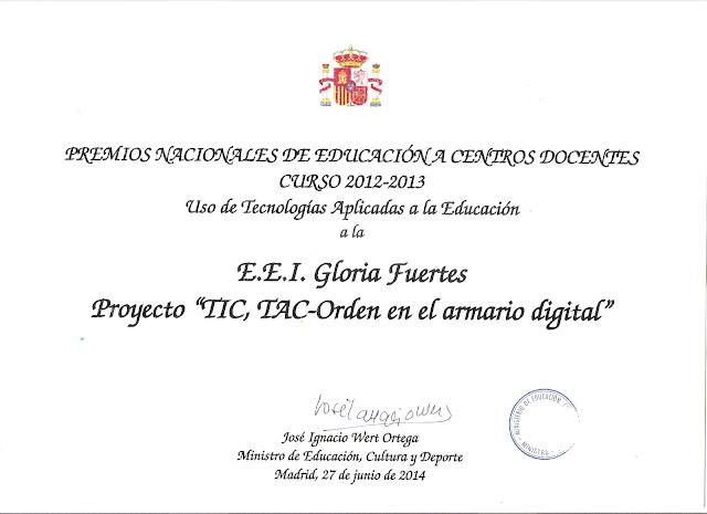 Premio Nacional Uso de las Tic