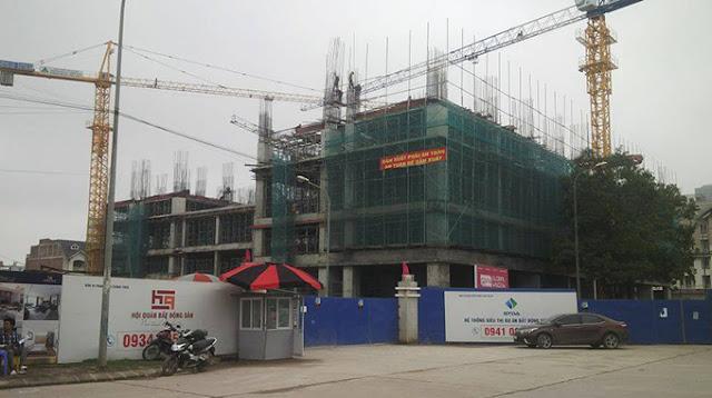 Tiến độ xây dựng dự án chung cư Gemek Premium