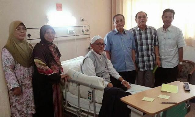 Lim Kit Siang Melawat TG Haji Hadi