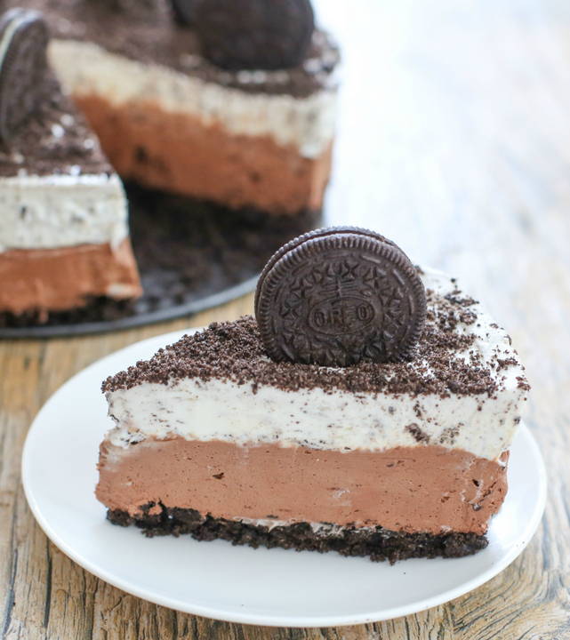 No Bake Double Chocolate Oreo Cheesecake and a $110 Giveaway! | Kirbie ...