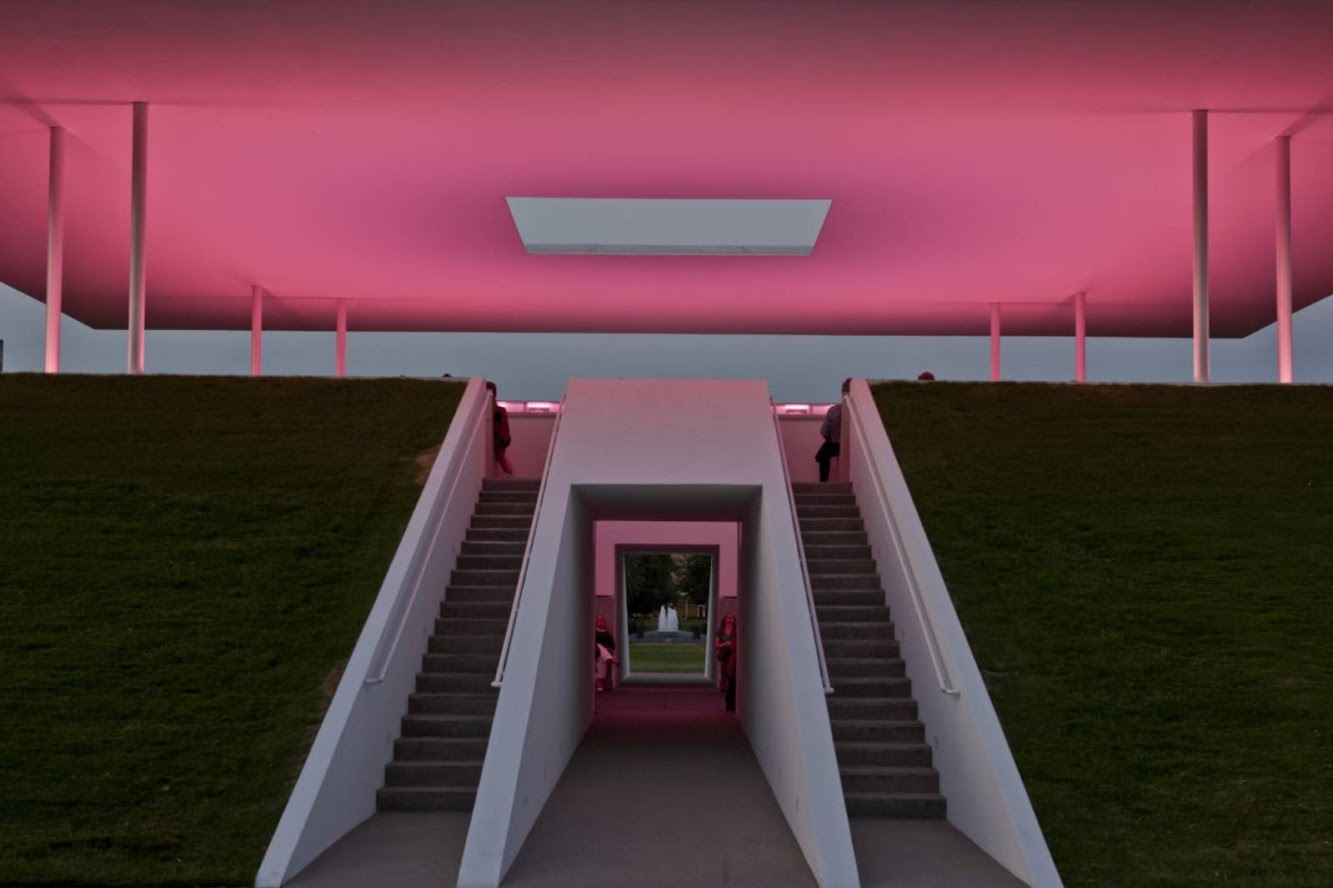 Arganzuela, Madrid, Spagna: Twilight Epiphany by James Turrell