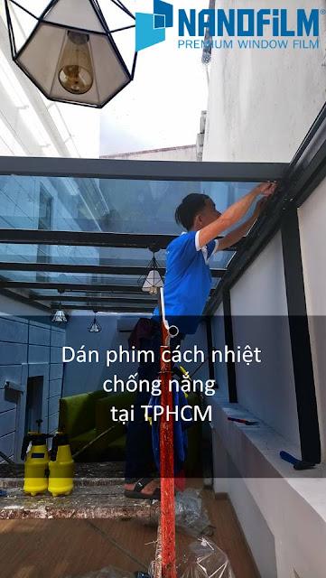 Decal dán kính chống nắng chính hãng Hàn Quốc ở TPHCM