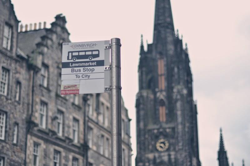 Schotland, Edinburg, reizen, reisblog, ervaring, micro-adventure, bushalte, Lawnmarket