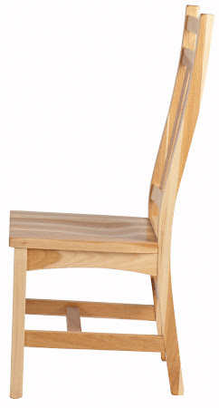 Trestle Dining Chair in Natural Hickory