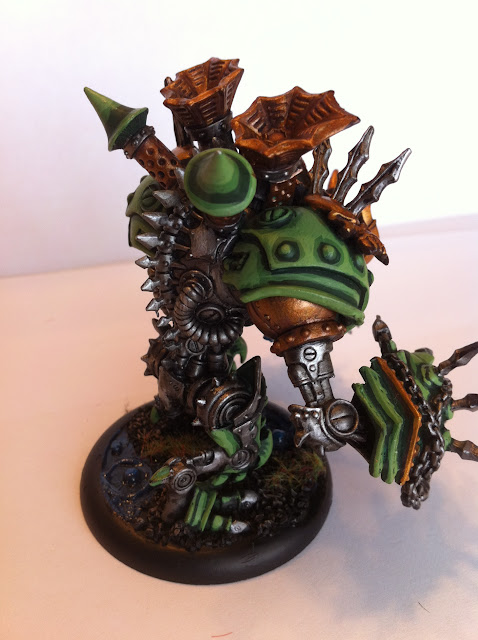 Dabbling With Warmachine:  Cryx Death Jack Painted