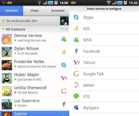 IM+ Pro - Phần mềm Chat sử dụng nhiều tài khoản khác nhau