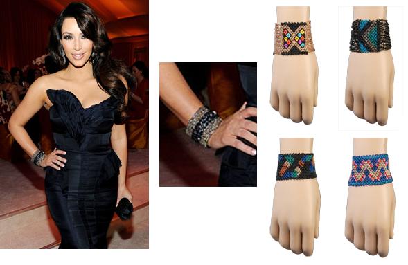 cuff bracelet template. beaded cuff bracelet look