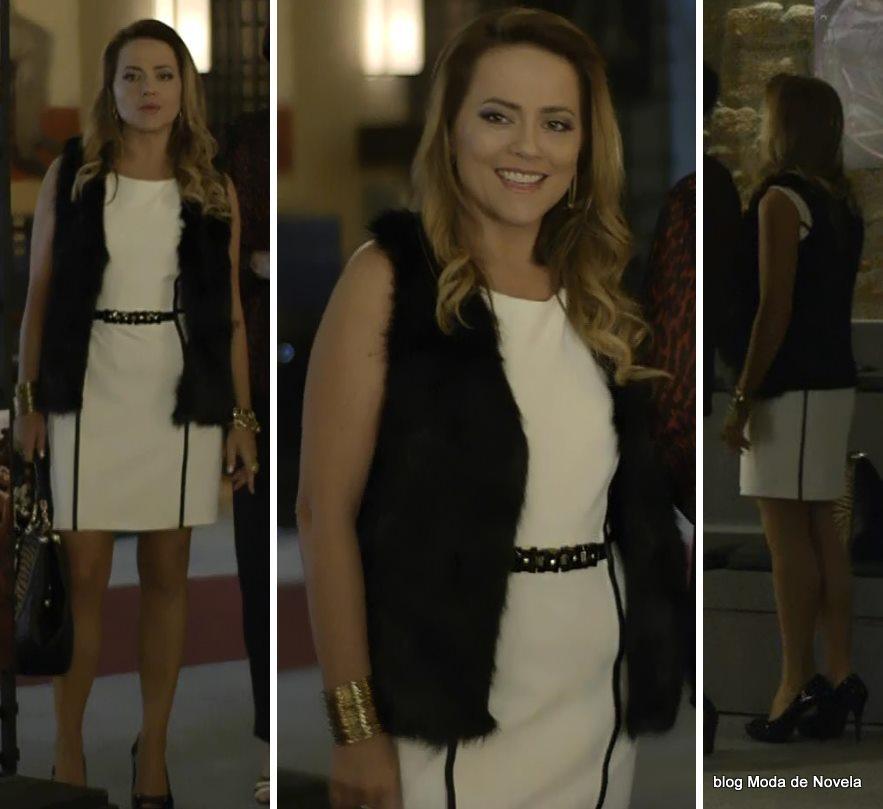 moda da novela Em Família - look da Shirley dia 31 de maio