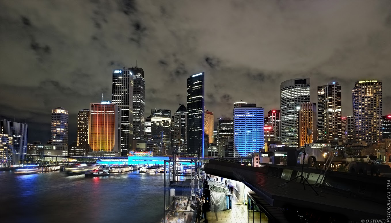 Vivid+2014+Sydney+Sky+line+looking+south