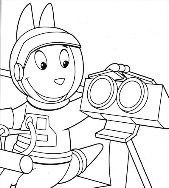 Coloring Pages for everyone Backyardigans