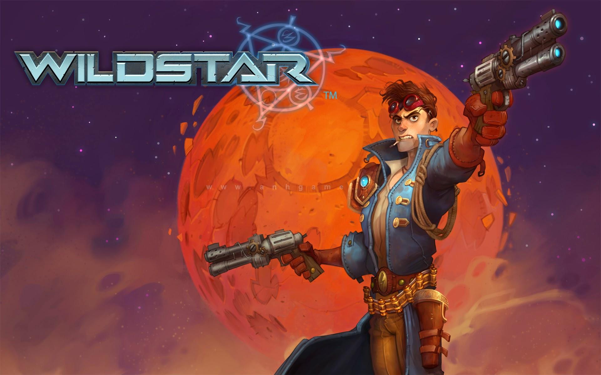 Loạt hình nền đẹp mắt của MMORPG Wild Star - Ảnh 8