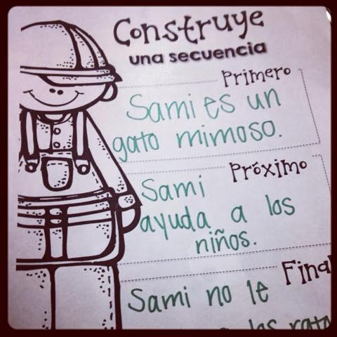http://www.teacherspayteachers.com/Product/Spanish-Sequence-Practice-Sheets-987383