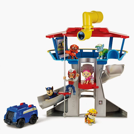 2014 Hot Toys: Paw Patrol Look-Out Playset