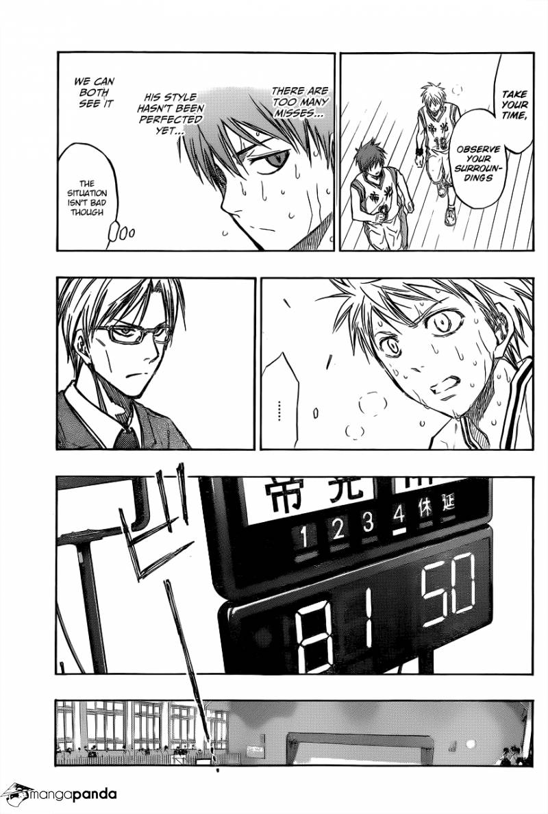 Kuroko no Basket Manga Chapter 208 - Image 17