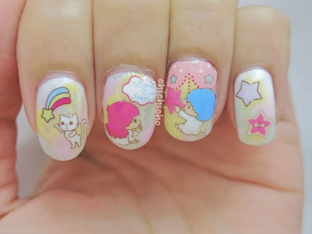 Little Twin Star Sanrio Water Decal Nail Art Chichicho