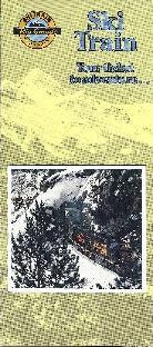 Ski Train Brochure 1980s