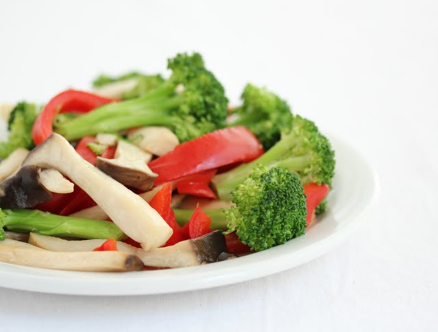 Stir Fry Oyster mushrooms and a giveaway