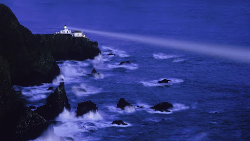 Majestic Beacon of Light, Point Bonita Lighthouse, Marin County, California.jpg