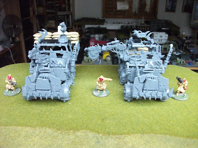 Ork trukk instructions