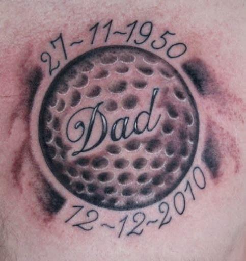 Tattoo Ideas Golf: 20 Best Golf Tattoos Designs And Ideas
