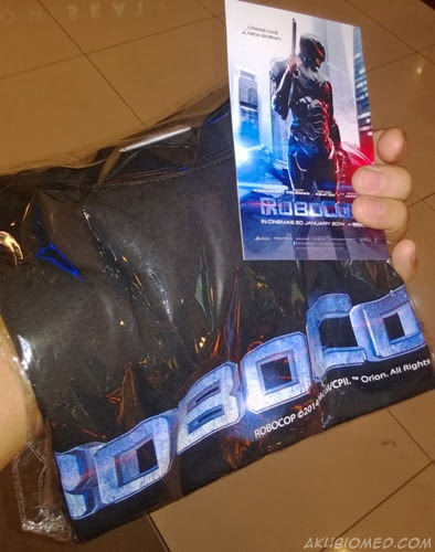 tiket dan t-shirt ekslusif RoboCop