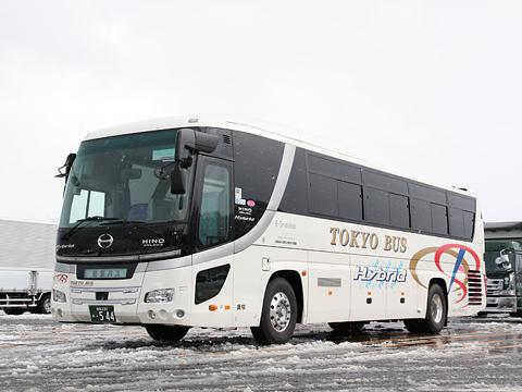 東京バス 日野セレガハイブリッド 544 那須高原SAにて