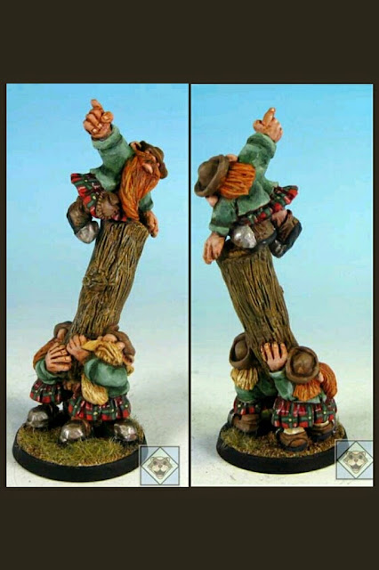 Impact Scotlings/Halflings Hombre árbol Blood bowl