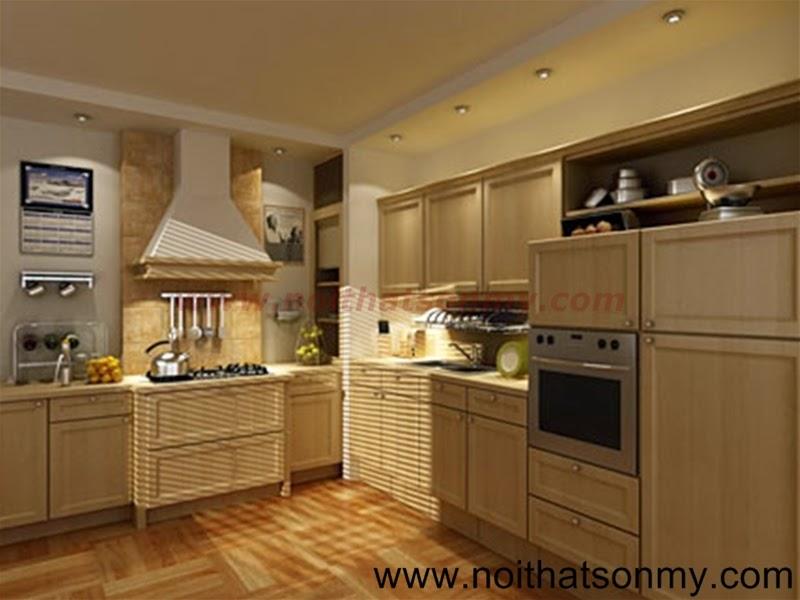 Tủ bếp gỗ 02