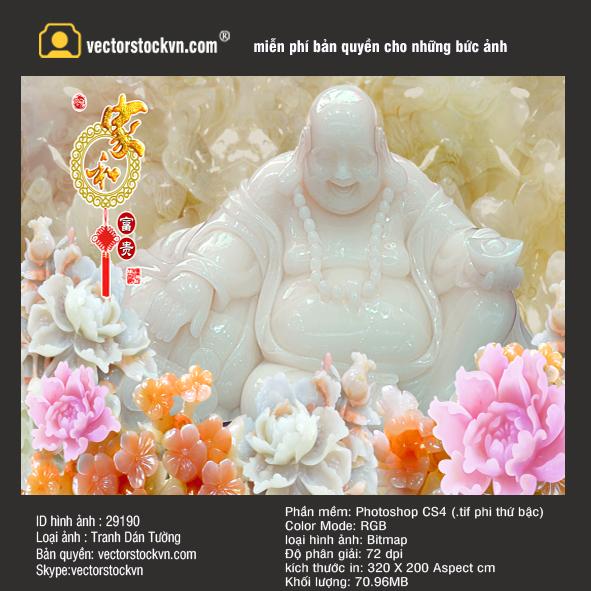 Tranh Ngọc Phật Di lặc