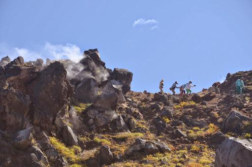 中尾峠から焼岳山頂