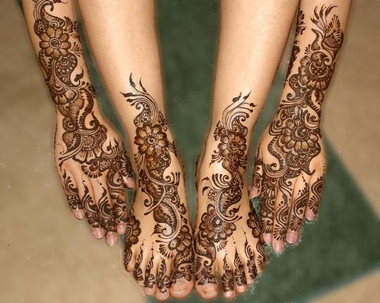 Mehndi Wallpapers Feet : Mehndi designs for hands and feet download wallpaper