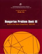 Hungarian Problem Book ΙII 1929-1943