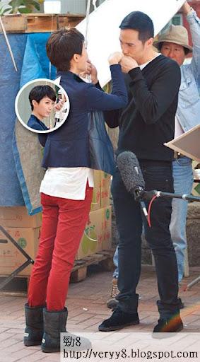 玩純情 <br><br>兩年前在《公主嫁到》合作過,當時法拉只是女配角,如今升格一線,終於有機會跟陳豪做一對。