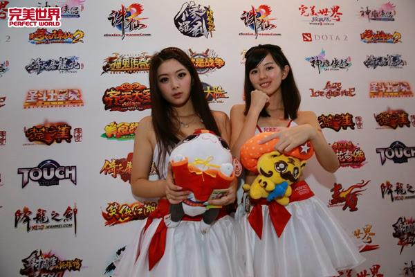 Ngắm dàn mỹ nữ của Perfect World tại ChinaJoy 2013 14