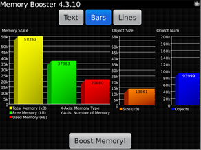 Memory Booster v4.3.10 BlackBerry