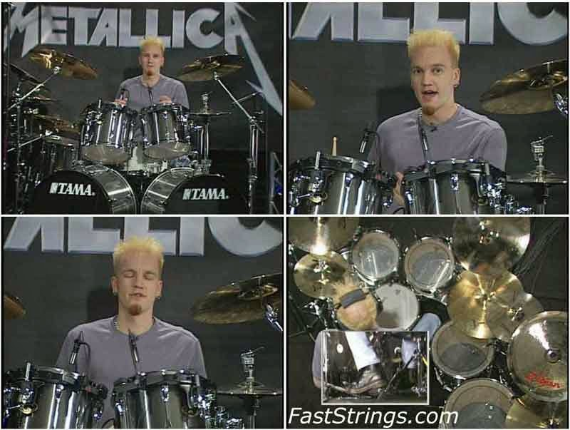 Legendary Drum Licks: Metallica 1988-1997