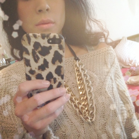 J crew iPhone 5 case hrh cuff necklace in gold sara knit collection sweater pink lips