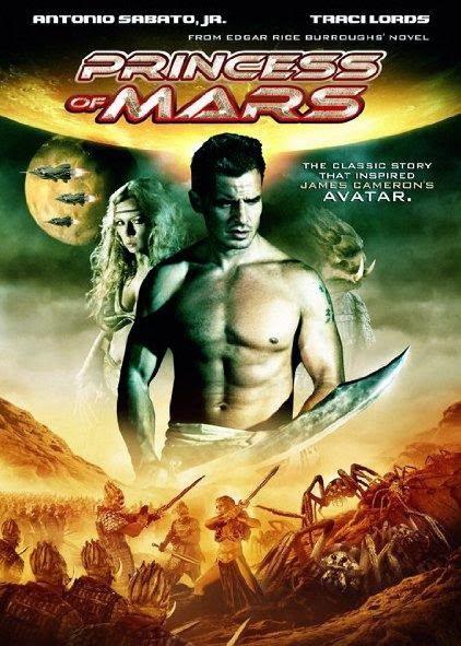 Poster Of Princess of Mars (2009) Full Movie Hindi Dubbed Free Download Watch Online At Alldownloads4u.Com