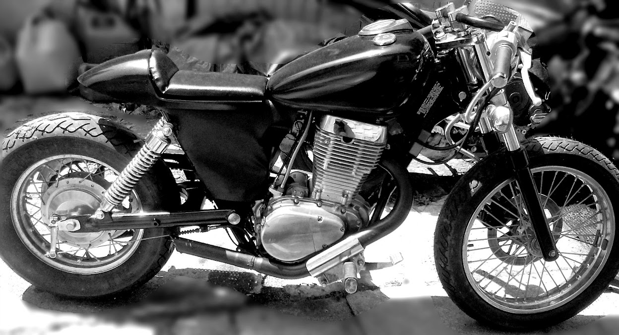 Cafe Racer Style Moped For Sale