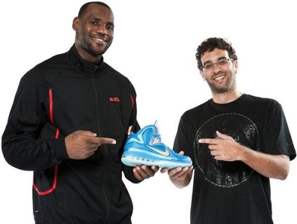 Nike LeBron 9 Design Sketches by Jason Petrie