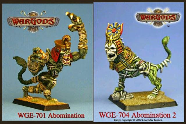Abominaciones undeads de WarGods