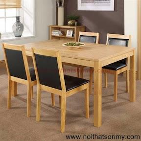 Bộ bàn ăn gỗ 12