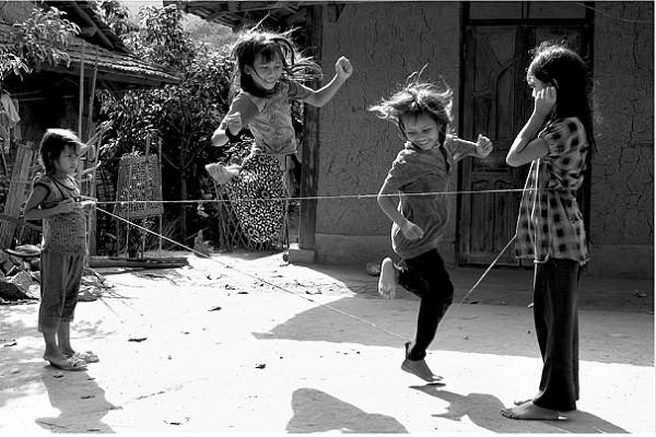 trò chơi nhảy dây
